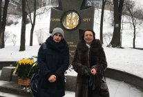 Heroes of Kruty in the memory of modern patriots