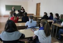 The students of the Law Institute acquire practical skills