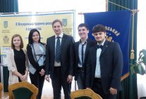 Students of Law Institute - participants of the IX Ukrainian Law School on Justice
