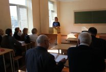 In Law Institute was Held the General Meeting of the Labor Collective