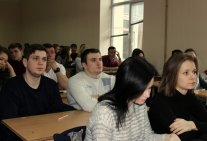 Meeting of Students with the People's Deputy Vitaly Kupriy