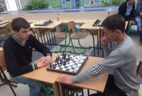 Students of Law Institute - Participants of the III Chess Tournament