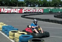 Karting Championship between the institutions of the National Aviation University