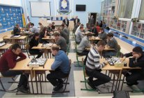 Participation the students of Law Institute in chess tournament