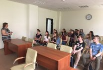 Students of Educational and Research Institute of Law visited the Supreme Council of Justice