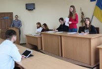 Court Hearing Simulation by Law Students