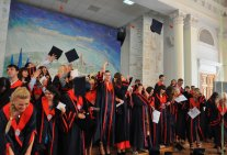 Graduation ceremony for students of Law Institute